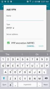 how to use a vpn on android