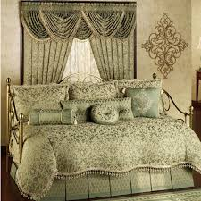 Daybed Blankets Cream And Dark Brown Bedding Set With Inspirations Bedroom