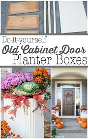 Do It Yourself Cabinet Doors Diy Cabinet Door Planter Boxes Diy Cabinet Doors Diy Cabinets