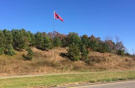 Confederate Flag Checks The Virginia Flaggers Massive Battle Flag Raised In Danville