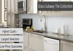 Kitchen With Glass Tile Backsplash Glass Subway Tile Kitchen Backsplash Best 25 Glass Tile Kitchen