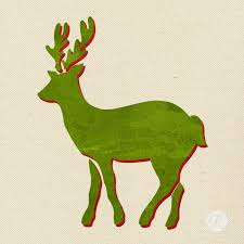 santa reindeer craft stencils diy decorations