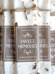 anniversary favors sweet memories nougat anniversary favors weddings ideas from
