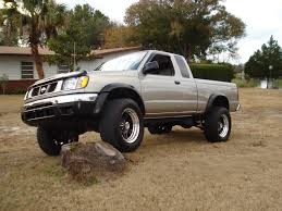 nissan frontier xe 1998 pics of new wheels and lift nissan frontier forum