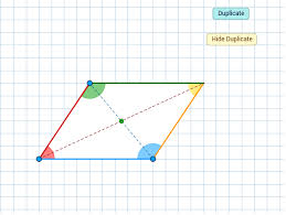 properties of parallelograms worksheet properties of parallelograms geogebra