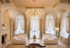 Living Room Decorative Curtain Rod Curtain Modern Sofa Wooden
