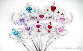 frozen headband 2017 crown tiara headband set princess frozen magic wand
