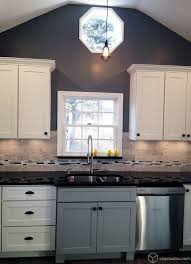 Behr Paint Kitchen Cabinets Behr Deckover Reviews For A Traditional Kitchen With A Stainless