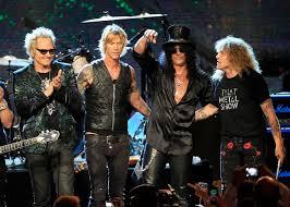 Guns And Roses - slash axl no at guns n roses of fame induction