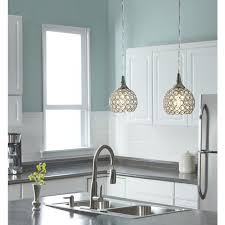 crystal pendant lighting for kitchen interior designers often use pendant lights in the kitchen to