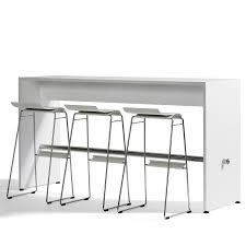 high table with bar stools ping pong bar table l23 modern breakout furniture apres furniture