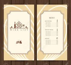 restaurants menu templates free wine list restaurant menu template on wooden background vector wine list restaurant menu template on wooden background vector illustration stock vector 38303503
