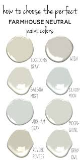 neutral paint colors tips for choosing the perfect farmhouse neutral paint colors