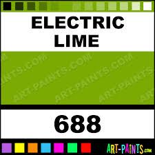 electric lime pigment tattoo ink paints 688 electric lime