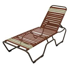 Patio Chaise Lounge Chair Hampton Bay Mix And Match Sling Outdoor Chaise Lounge Fls00036g W