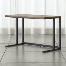 crate and barrel phoenix work table shop modern desks for home offices crate and barrel