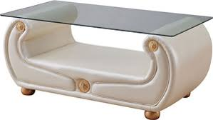 Ivory Coffee Table Esf Furniture Giza Ivory Coffee Table