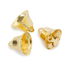 small gold bells for crafts 1 inch liberty bells