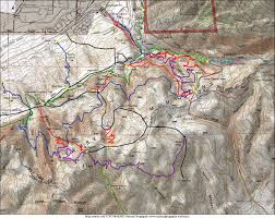 Sandy Utah Map by Corner Canyon Trail Overview Draper Mountain Bike Trails