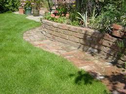 brick garden wall brick garden walls garden idea 2507 write teens