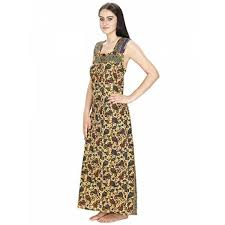 klamotten women u0026 039 s cotton nightdress 58g22 multicolour free