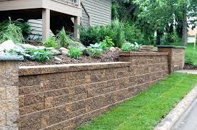 Retaining Garden Walls Ideas Garden Wall Materials Swebdesign
