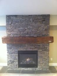 stone fireplace with 100 year old barn beam mantel my projects stone fireplace with 100 year old barn beam mantel
