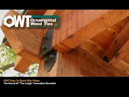 owt post to beam kit