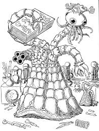lovecraft sketch mwf the great race of yith mockman com