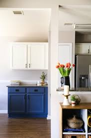 easiest way to paint kitchen cabinets blue white kitchen cabinets love renovations