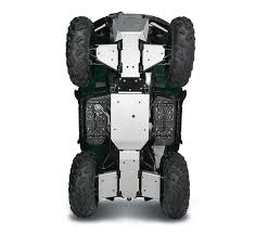 2016 brute force 750 4x4i eps skid plate rear
