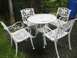 outdoor iron table and chairs garden furniture enex group