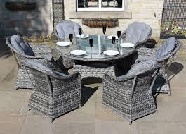 Yakoe Garden Furniture Grey Wicker Garden Furniture Zandalus Net