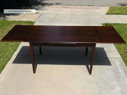 mid century modern extendable dining table west elm expandable