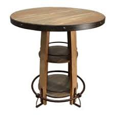 Rustic Bistro Table And Chairs Most Popular Rustic Pub And Bistro Tables For 2018 Houzz