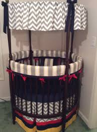 Yellow And Gray Crib Bedding by Baby Boy Round Crib Bedding Set Yellow Red Navy And Gray