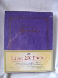 photo album book 4x6 new 200 photos photo album book slip in pockets up to 10 x 15 cm 4