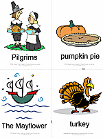 thanksgiving cards thanksgiving flashcards printable flash cards