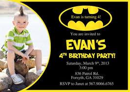 batman invitations printable free invitations ideas