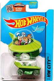 the jetsons amazon com wheels 2015 hw city the jetsons capsule car 57