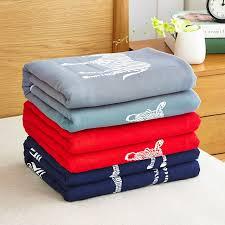 jeter un canapé vente chaude de mode coton couverture coréenne poissons zèbre