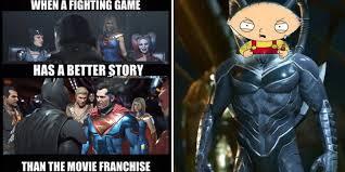 Character Memes - gods a meme us 15 hilarious injustice 2 memes cbr