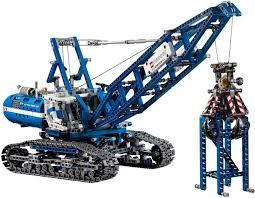 lego technic bricker конструктор lego 42042 гусеничный кран crawler crane