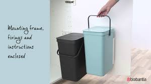 Brabantia Bathroom Accessories Brabantia Sort U0026 Go Waste Bins Youtube