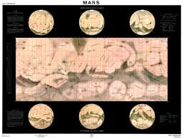 Mars Map Manned Mars Surface Missions 1966 Wired
