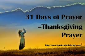 prayer of thanksgiving simple catholic living
