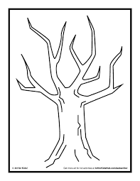 tree trunk coloring sheet in page eson me