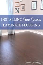 Laminate Floor Caulk Select Surfaces Laminate Hardwood Flooring Well Groomed Home