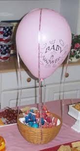 hot air balloon centerpiece air balloon centerpiece