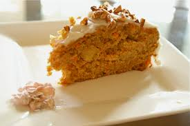 carrot pineapple cake with soy cream cheese icing got no milk